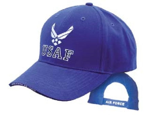 Air Force - Embroidered Cap - Air Force w/HAP (Royal)