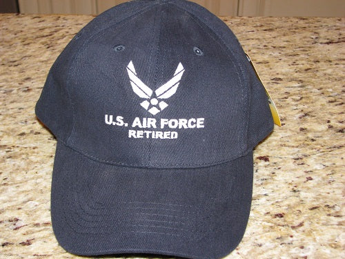 Air Force - Embroidered Cap - U.S. Air Force Retired (Style 2)