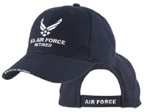 Air Force - Embroidered Cap - U.S. Air Force Retired w/HAP