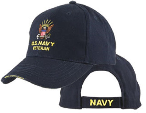 Navy - Extreme Embroidered Cap - U.S. NAVY VETERAN