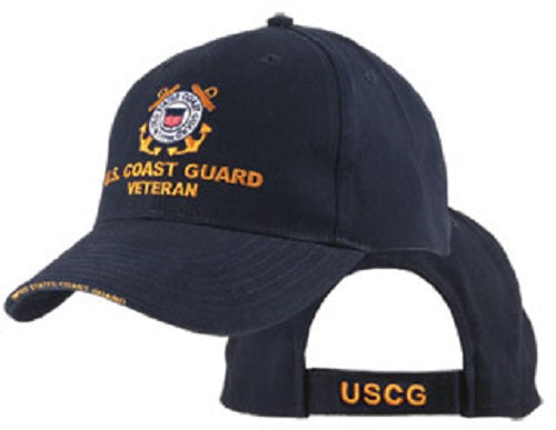 Coast Guard - Embroidered Cap - U.S. Coast Guard Veteran (As Is Item)