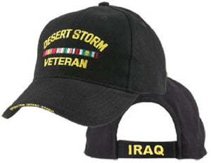 Wars - Extreme Embroidered Cap - Desert Storm Veteran
