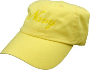 Navy - Extreme Embroidered Cap - Navy Yellow