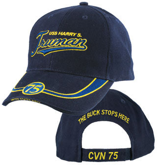 Navy - Embroidered Cap - USS Harry S. Truman CVN 75