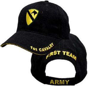 Army - Embroidered Cap - 1st Cavalry