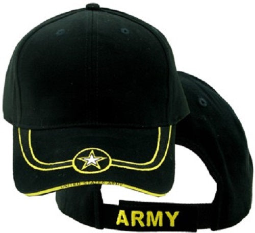 Army - Embroidered Cap - Army Star