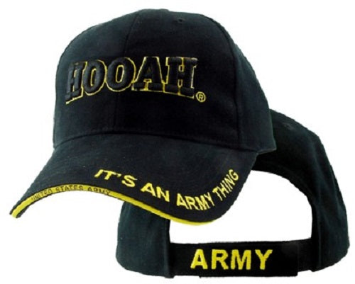 Army - Embroidered Cap - Hooah