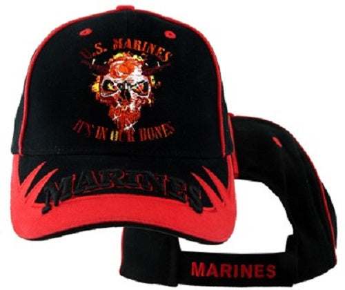 Marines - Embroidered Cap - It's In Our Bones