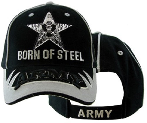 Army - Embroidered Cap - Army Born of Steel