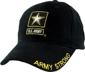 Army - Embroidered Cap - U.S. Army (Army Strong w/Star)