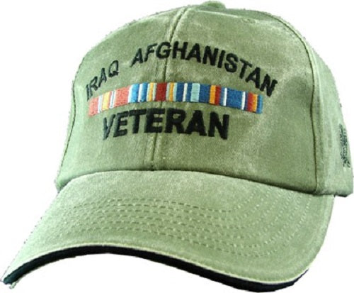 Wars - Extreme Embroidered Cap - Iraq Afghanistan Veteran
