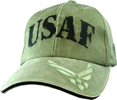Air Force - Embroidered Cap - USAF Rubber Stamp