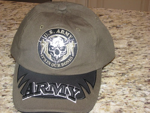 Army - Embroidered Cap - U.S. Army It's In Our Bones