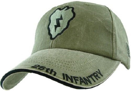 Army - Embroidered Cap - 25th Infantry