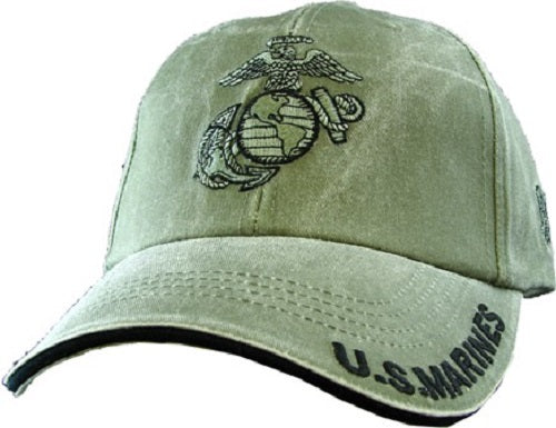 Marines - Embroidered Cap - U.S. Marines (Emblem and Eagle)