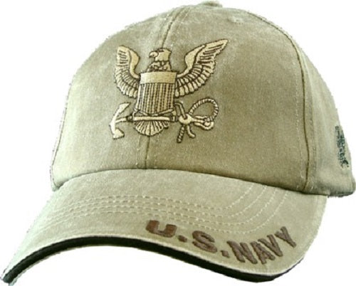 Navy - Extreme Embroidered Cap - U.S. NAVY w/Navy Logo
