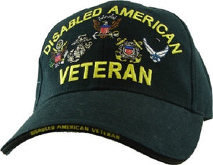 Embroidered Cap - Disabled American Veteran