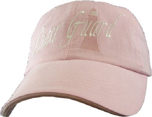Coast Guard - Extreme Embroidered Cap - Pink Coast Guard