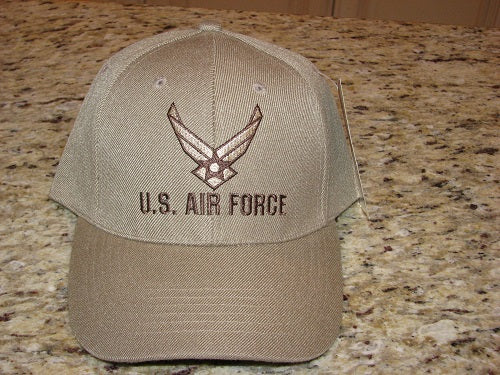 Air Force - Embroidered Cap - U.S. Air Force w/HAP