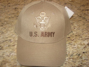 Army - Embroidered Cap - U.S. Army w/emblem