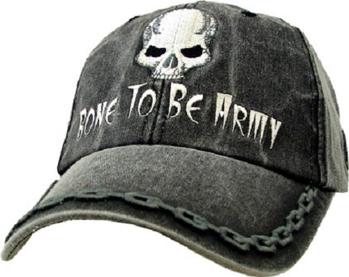 Army - Embroidered Cap - Bone to be Army