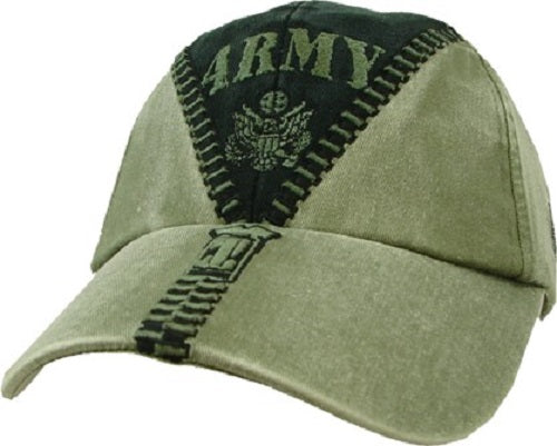 Army - Embroidered Cap - ARMY w/zipper