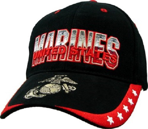 Marines - Embroidered Cap - United States Marines G&A