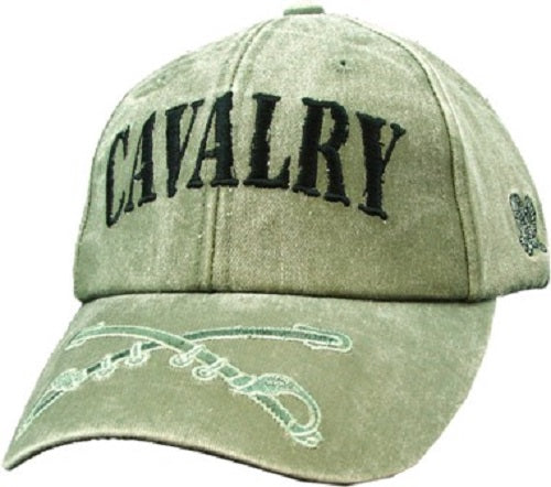 Army - Embroidered Cap - Cavalry