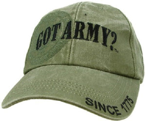 Army - Embroidered Cap - Got Army?