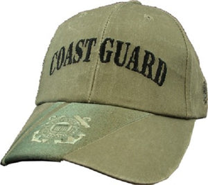 Coast Guard - Embroidered Cap - Coast Guard (Emblem and Eagle)