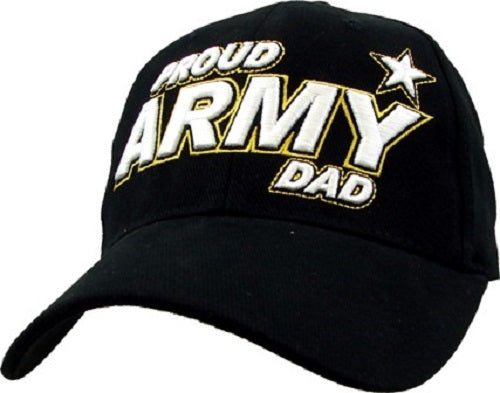 Army - Embroidered Cap - Proud Army Dad