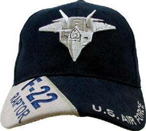 Air Force - Embroidered Cap - F-22 Raptor