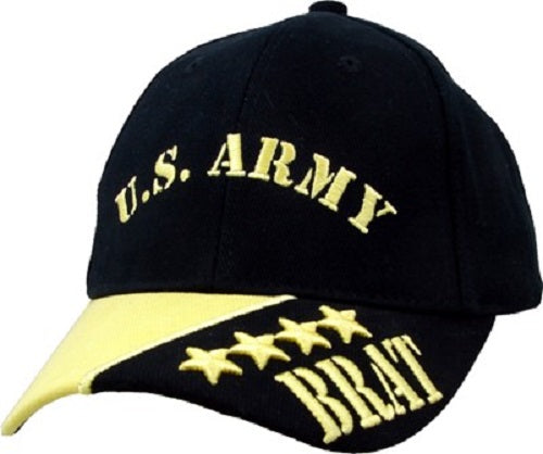 Army - Extreme Embroidered Cap -U.S. Army Brat (Youth)