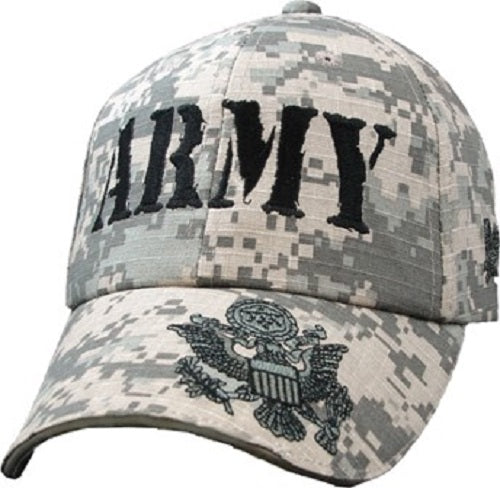 Army - Embroidered Cap - ARMY Digi-Camo w/Army Logo