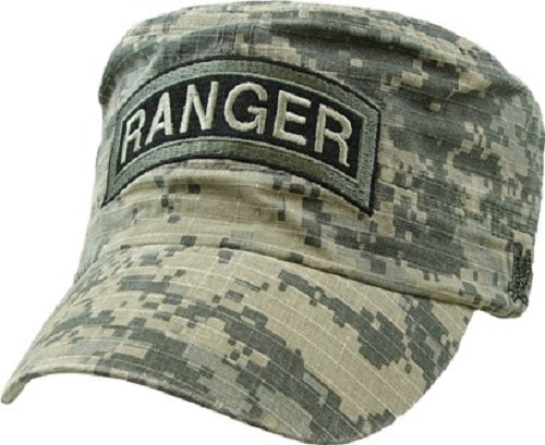 Army - Embroidered Cap - RANGER Digi-Camo Flat Top