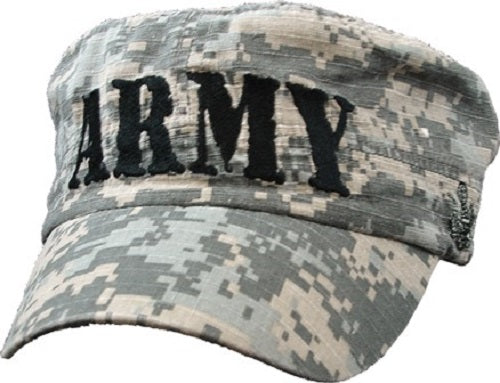 Army - Embroidered Cap - ARMY Digi-Camo Flat Top