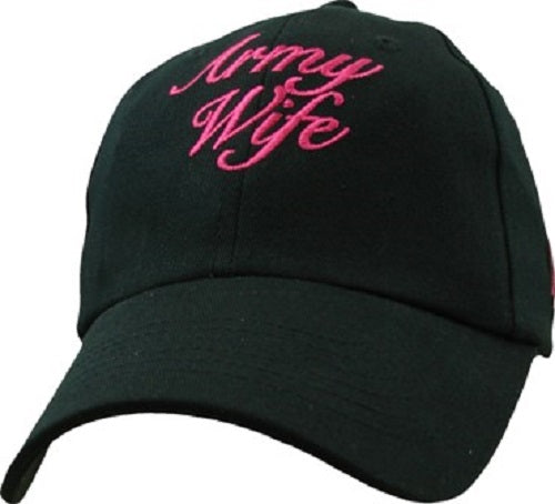 Army - Extreme Embroidered Cap -Army Wife (Ladies)