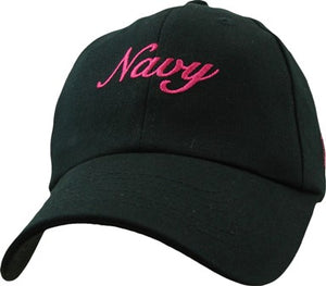 Navy - Extreme Embroidered Cap - Navy (Ladies)
