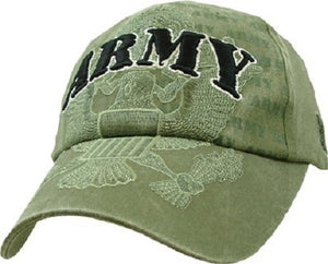 Army - Embroidered Cap - Army w/full Eagle emblem