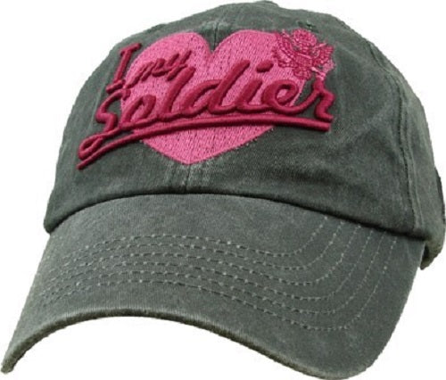 Army - Embroidered Cap - I Love My Soldier