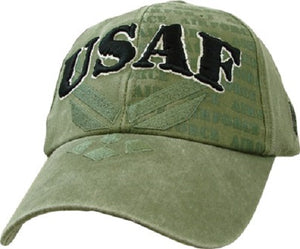 Air Force - Embroidered Cap - USAF (Emblem and Eagle)