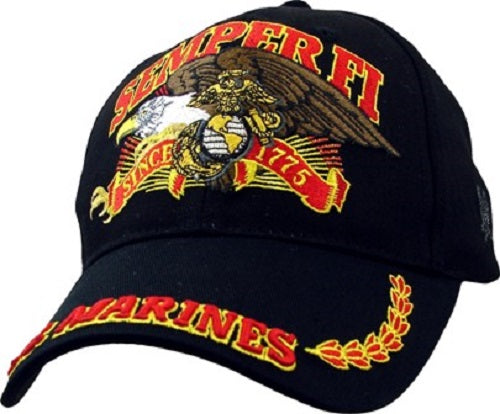 Marines - Embroidered Cap - Semper Fi U.S. Marines