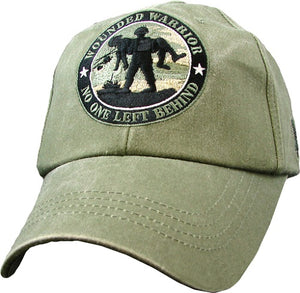 Embroidered Cap - Wounded Warrior