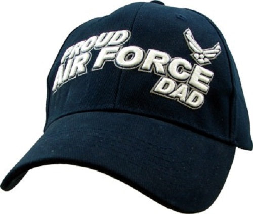 Air Force - Embroidered Cap - Proud Air Force Dad
