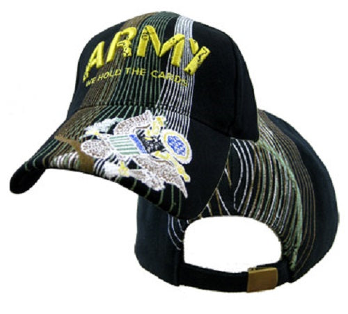 Army - Embroidered Cap - Army We Hold the Cards