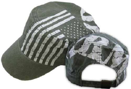 Army - Embroidered Cap - Flag Flat Top