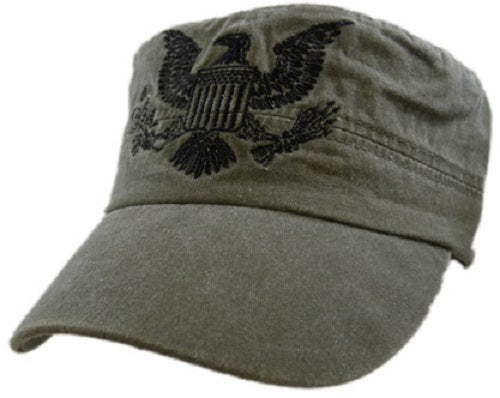 Army - Embroidered Cap - Army Eagle Flat Top