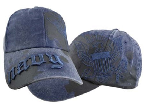 Navy - Extreme Embroidered Cap - United States Navy Paint Splatter