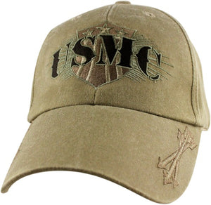 Marines - Embroidered Cap - USMC (Arrows and Shield)