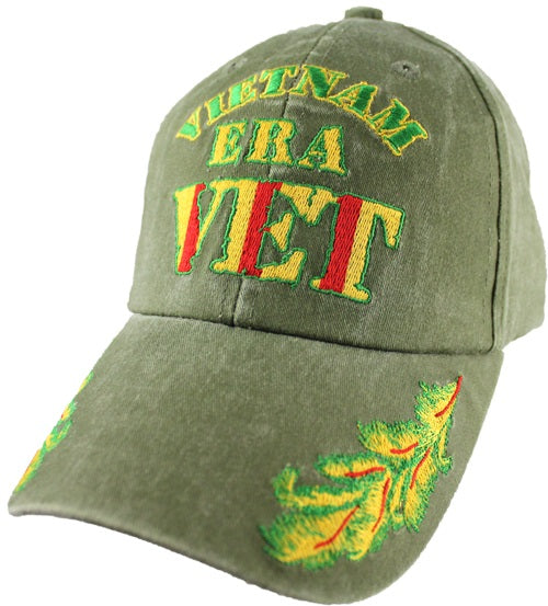 Wars & Operations - Embroidered Cap - Vietnam Era Vet